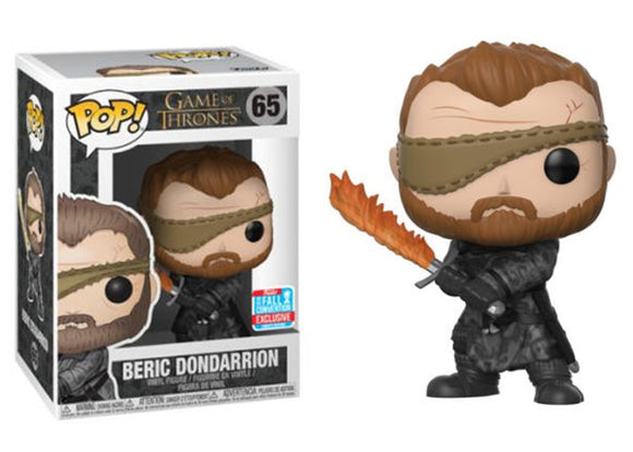 Pop! Game of Thrones - Beric Dondarrion (Fall Convention Exclusive 2018) - Mom's Basement Collectibles