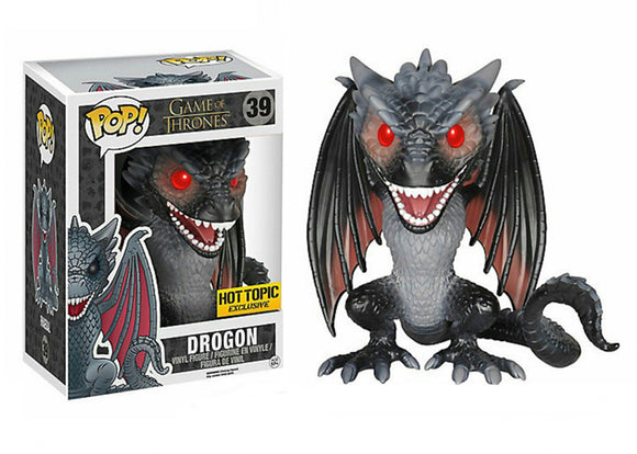 Pop! Game of Thrones - Drogon [6 Inch] (Hot Topic Exclusive) - Mom's Basement Collectibles