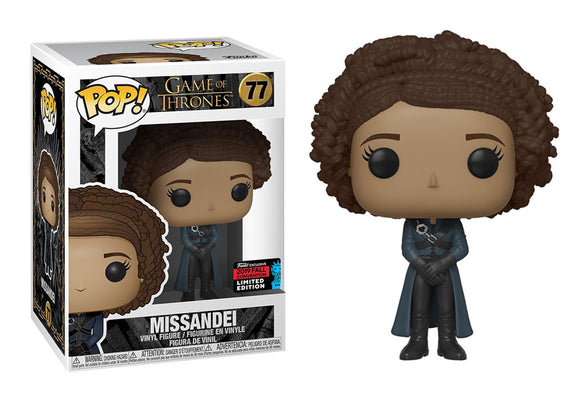 Pop! Game of Thrones - Missandei (Fall Convention Exclusive 2019) - Mom's Basement Collectibles