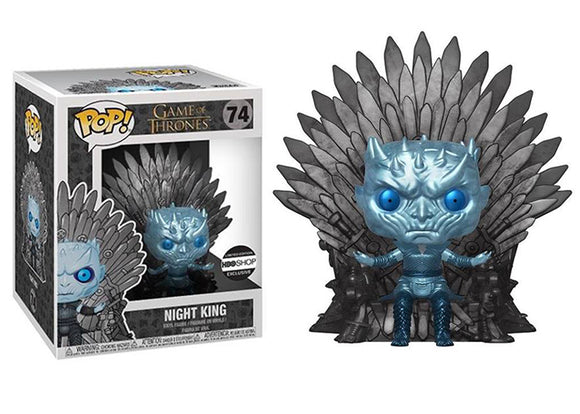 Pop! Game of Thrones - Night King [Iron Throne - Metallic] (HBO Exclusive) - Mom's Basement Collectibles