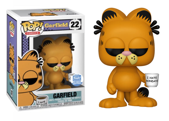 Pop! Comics: Garfield - Garfield With Mug (Funko Shop Exclusive) - Mom's Basement Collectibles