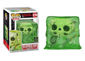 Pop! Games: Dungeons & Dragons - Gelatinous Cube (Spring Convention Exclusive 2020) - Mom's Basement Collectibles
