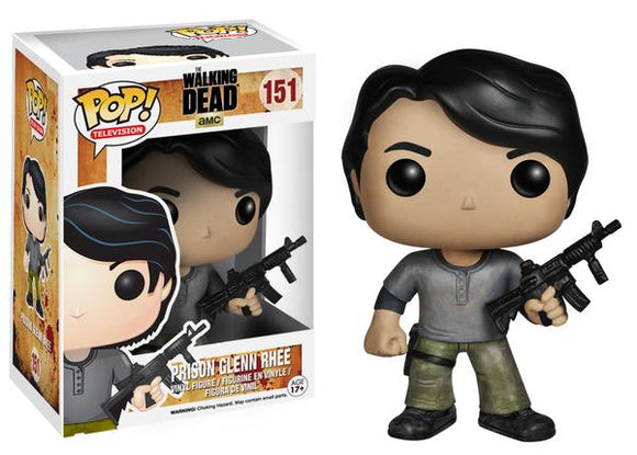 Pop! Television: The Walking Dead - Prison Glenn Rhee - Mom's Basement Collectibles