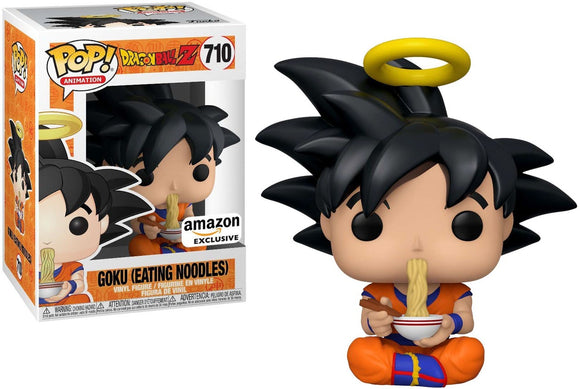 Pop! Animation: Dragon Ball Z - Goku [Eating Noodles] (Amazon Exclusive)