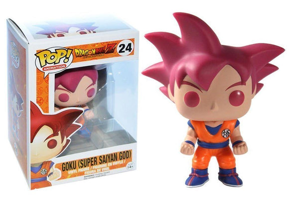 Pop! Animation: Dragon Ball Z - Goku (Super Saiyan God) - Mom's Basement Collectibles