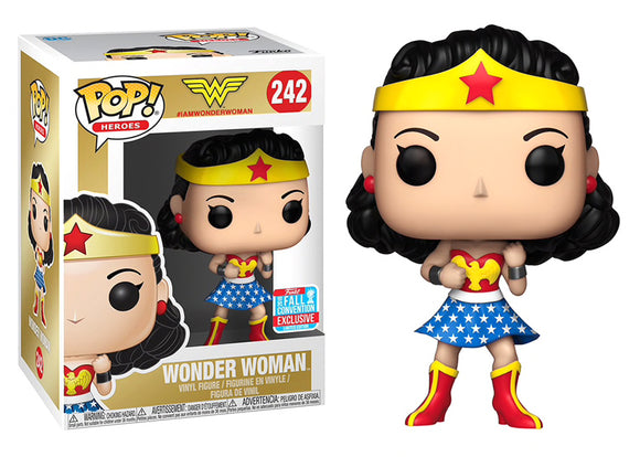 Pop! Heroes - Wonder Woman [1st Appearance] (Fall Convention Exclusive 2018) - Mom's Basement Collectibles