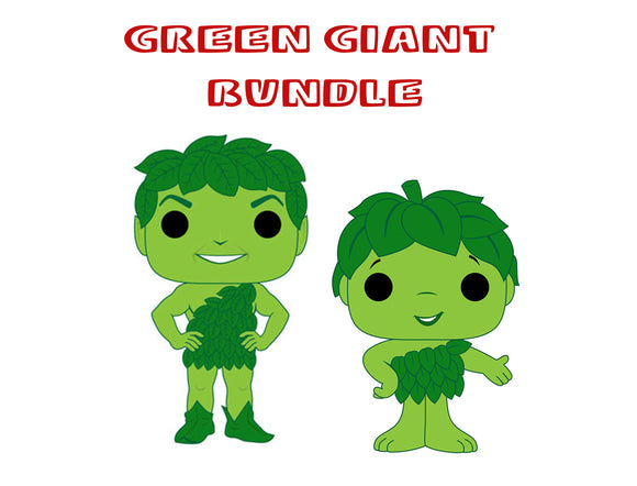 [PRE-ORDER] Pop! Ad Icons - Green Giant Set - Mom's Basement Collectibles
