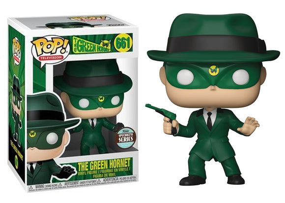 Pop! Television: The Green Hornet - Green Hornet (Funko Specialty Exclusive) - Mom's Basement Collectibles