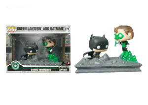 Pop! Heroes: Comic Moments - Green Lantern & Batman [Jim Lee] (Gamestop Exclusive) - Mom's Basement Collectibles