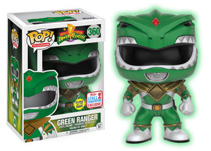 Pop! Television: Mighty Morphin Power Rangers - Green Ranger [GITD] (Fall Convention Exclusive 2017) - Mom's Basement Collectibles