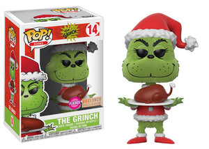 Pop! Books - Grinch [Flocked] (Box Lunch Exclusive) *DAMAGED* - Mom's Basement Collectibles