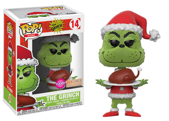 Pop! Books - Grinch [Flocked] (Box Lunch Exclusive) - Mom's Basement Collectibles