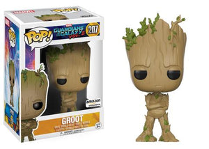 Pop! Marvel: Guardians of the Galaxy Vol. 2 - Groot [Teenaged] (Amazon Exclusive) - Mom's Basement Collectibles