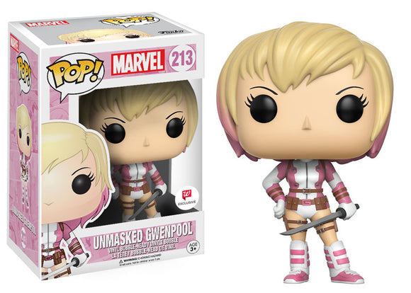 Pop! Marvel - Unmasked Gwenpool (Walgreens Exclusive) - Mom's Basement Collectibles