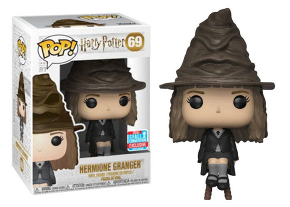 Pop! Harry Potter - Hermione Granger [Sorting Hat] (Fall Convention Exclusive 2018) - Mom's Basement Collectibles