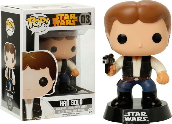 Pop! Star Wars - Han Solo [Black Box] - Mom's Basement Collectibles