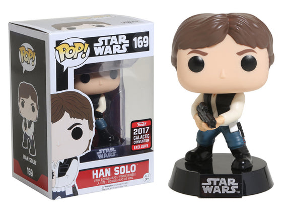 Pop! Star Wars - Han Solo (Galactic Convention Exclusive 2017) - Mom's Basement Collectibles