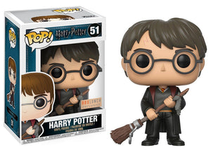 Pop! Harry Potter - Harry Potter [Firebolt] (Box Lunch Exclusive) - Mom's Basement Collectibles