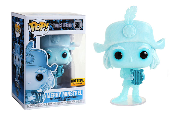 Pop! Disney: Haunted Mansion - Merry Minstrel (Hot Topic Exclusive) - Mom's Basement Collectibles