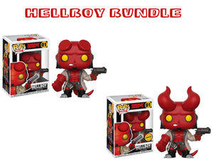 Bundle: Pop! Comics: Hellboy CHASE - Mom's Basement Collectibles