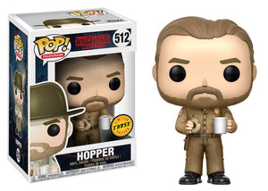 Pop! Television: Stranger Things - Hopper (Chase) - Mom's Basement Collectibles