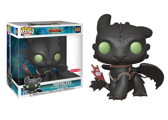 Pop! Movies: How to Train Your Dragon: The Hidden World - Toothless [10 Inch] (Target Exclusive) - Mom's Basement Collectibles