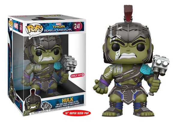 Pop! Marvel: Thor Ragnarok - Hulk [10 Inch] (Target Exclusive) - Mom's Basement Collectibles