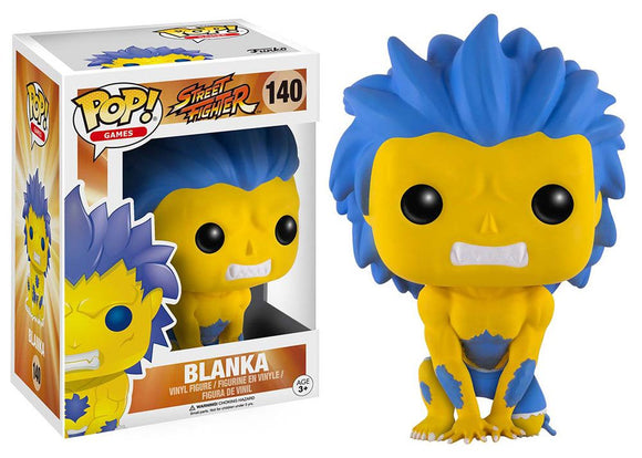 Pop! Games: Street Fighter - Blanka [Hyper] (Think Geek Exclusive) *DAMAGED* - Mom's Basement Collectibles