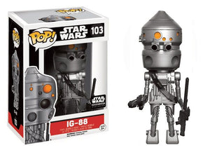 Pop! Star Wars - IG-88 (Smuggler's Bounty Exclusive) - Mom's Basement Collectibles