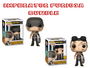 Bundle: Pop! Movies: Mad Max Fury Road - Imperator Furiosa CHASE - Mom's Basement Collectibles