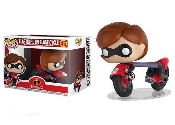 Pop! Rides: Incredibles 2 - Elastigirl On Elasticycle - Mom's Basement Collectibles