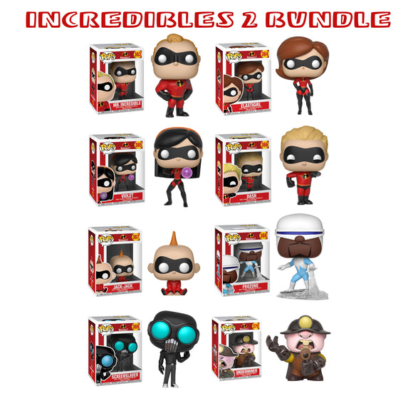 Bundle: Pop! Disney: Incredibles 2 Bundle - Mom's Basement Collectibles