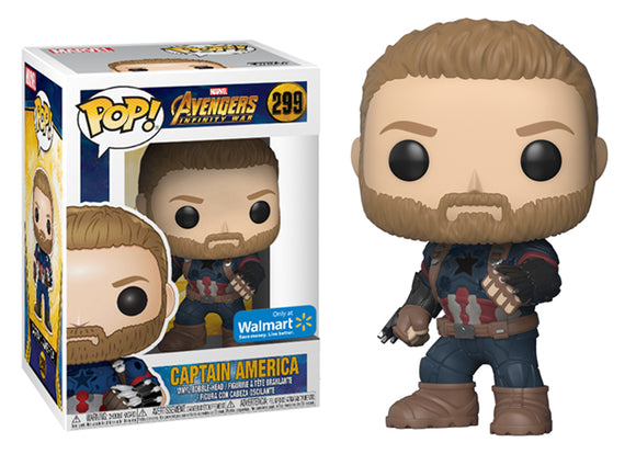 Pop! Marvel: Avengers: Infinity War - Captain America [Shields] (Walmart Exclusive) - Mom's Basement Collectibles