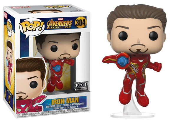 Pop! Marvel: Avengers: Infinity War - Iron Man [Unmasked ...