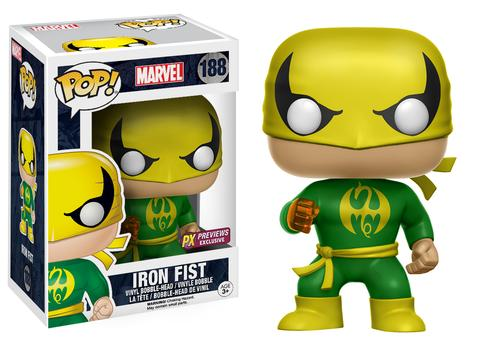 Pop! Marvel - Iron Fist (PX Exclusive) - Mom's Basement Collectibles