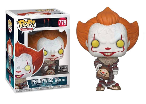 Pop! Movies: It Chapter 2 - Pennywise [Beaver Hat] (FYE Exclusive) - Mom's Basement Collectibles