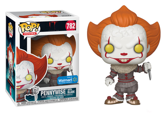 Pop! Movies: It Chapter 2 - Pennywise with Blade (Walmart Exclusive) - Mom's Basement Collectibles