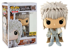Pop! Movies: The Labyrinth - Jareth [White] (Hot Topic Exclusive) - Mom's Basement Collectibles
