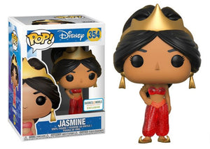 Pop! Disney - Jasmine [Red Glitter] (Barnes & Noble Exclusive) - Mom's Basement Collectibles