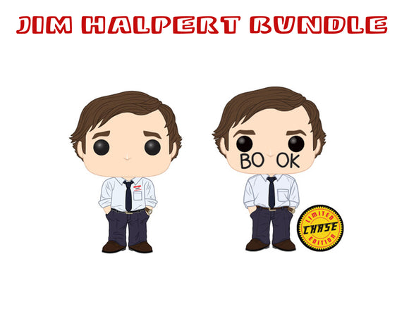 [PRE-ORDER] Bundle: Pop! Television: The Office - Jim Halpert CHASE Set - Mom's Basement Collectibles