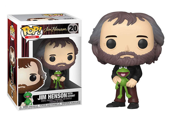 Pop! Icons: Henson - Jim Henson with Kermit - Mom's Basement Collectibles