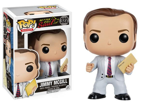 Pop! Television: Better Call Saul - Jimmy McGill - Mom's Basement Collectibles
