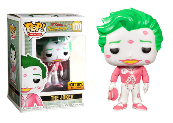 Pop! Heroes: DC Bombshells - The Joker w/ Kisses (Hot Topic Exclusive) - Mom's Basement Collectibles