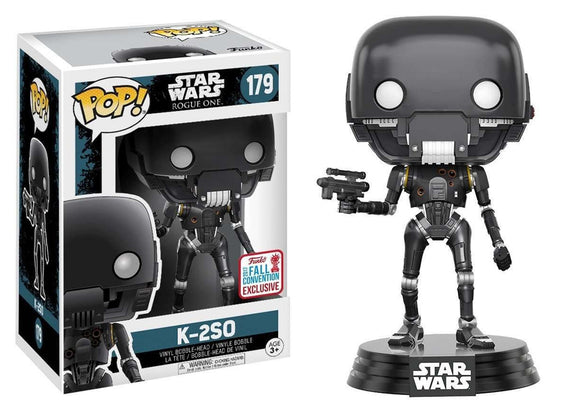 Pop! Star Wars - K2SO (Fall Convention Exclusive 2017) - Mom's Basement Collectibles