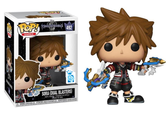 Pop! Disney: Kingdom Hearts III - Sora [Dual Blasters] (Funko Insider Club Exclusive) - Mom's Basement Collectibles