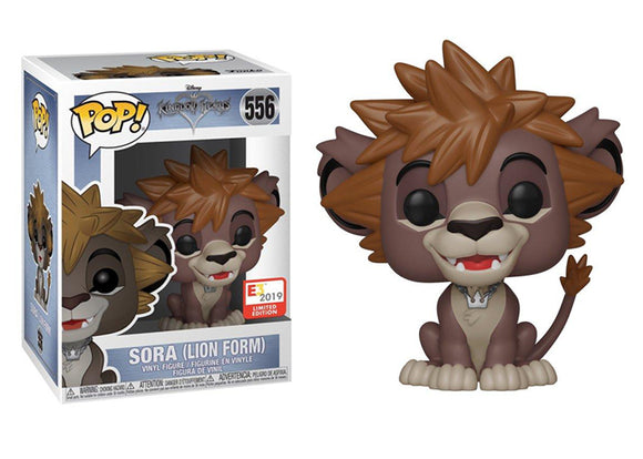 Pop! Games: Kingdom Hearts - Sora [Lion Form] (E3 2019 Exclusive) - Mom's Basement Collectibles