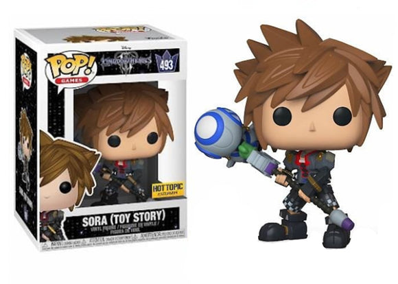 Pop! Disney: Kingdom Hearts III: Sora [Toy Story] (Hot Topic Exclusive) - Mom's Basement Collectibles