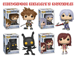 Bundle: Pop! Disney: Kingdom Hearts Series 2 - Mom's Basement Collectibles