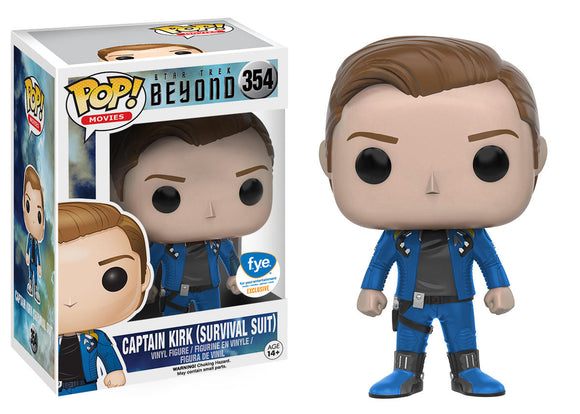 Pop! Movies: Star Trek Beyond - Captain Kirk [Survival Suit] (FYE Exclusive) - Mom's Basement Collectibles