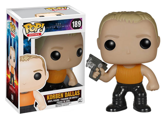 Pop! Movies: The Fifth Element - Korben Dallas - Mom's Basement Collectibles